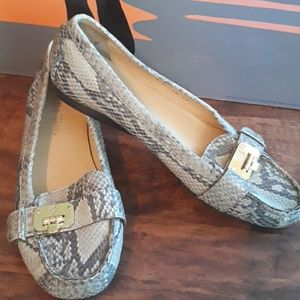 Cole Haan snake print flats Nike Air size 9